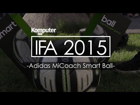 Adidas MiCoach Smart Ball - Inteligentna Piłka Nożna - IFA 2015