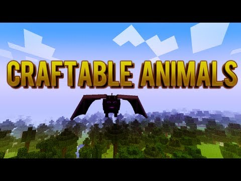 Ender Dragón - Craftable Animals - MOD REVIEW 1.0.0