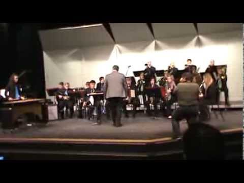 Tinley Park High School Honors Jazz Band at South Suburban College Jazz Festival 2/14/2014