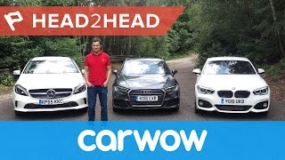 Audi A3 vs BMW 1 Series vs Mercedes A-Class 2017 | Head2Head