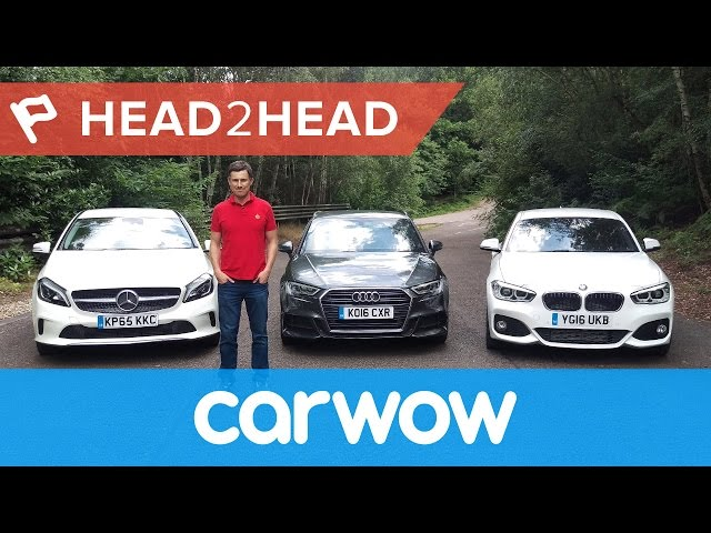Audi A3 vs BMW 1 Series vs Mercedes A-Class 2017 ...