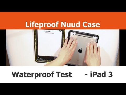 Lifeproof Nuud Case Test w/ a REAL iPad - Unboxing. Installation and Testing