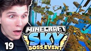 KOMPLETTE STADT ZERSTÖRT! KAMPF GEGEN 10 ENDERDRACHEN! ✪ Minecraft Sky BOSS EVENT  #19 | Paluten