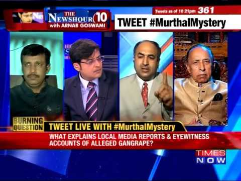 Murthal Mystery Gang Rapes During Jat Protest at NH1 | The Newshour Debate 26th Feb 2016