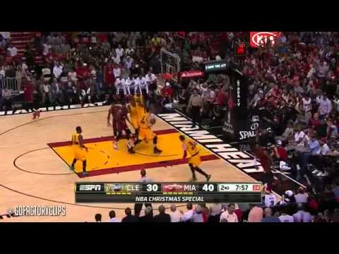 Dwyane Wade vs Lebron James Christmas Duel Highlights Heat vs Cavaliers 2014 12 25 MUST WATCH!