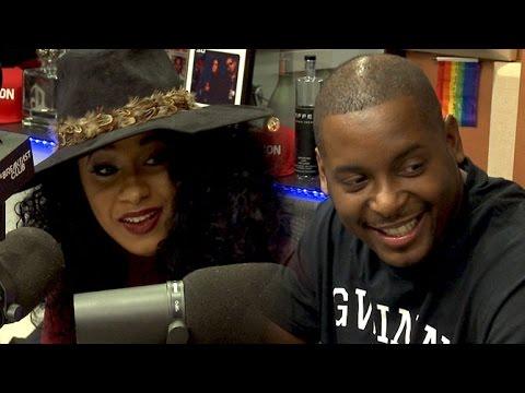 DJ Self and Cardi B Interview at The Breakfast Club Power 105.1 (12/15/2015)