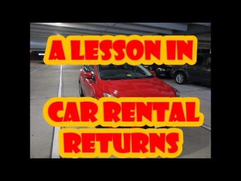 A LESSON ON ALAMO CAR RENTAL RETURNS – HARRISBURG AIRPORT