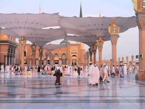 Masjid Al-nabawi, Medinah, Arabia, Rev.3,  Cs7.1, 12-15-12 video