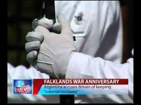 Falklands War Anniversary-Agentina Accuses Britain.flv