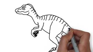 super 10 picture for kids / how to drawing line no colors for kids dinosaur house panda and title .
