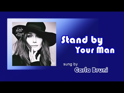 Stand by Your Man /Carla Bruni (with Lyrics)
