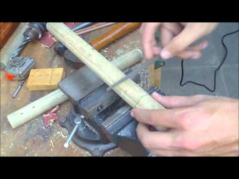 How To Make Nunchucks (nunchaku) Full Video video