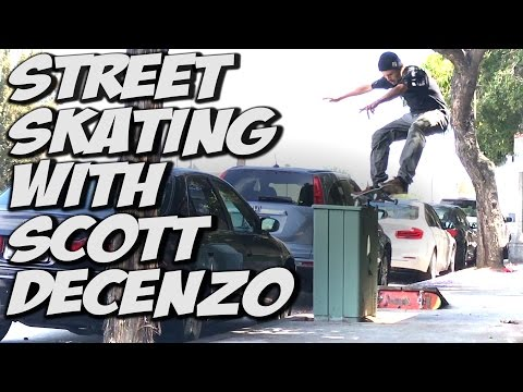 SKATING WITH SCOTT DECENZO - A DAY WITH NKA -