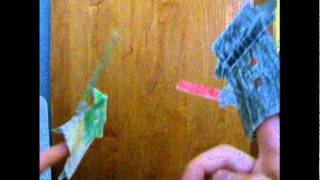 Origami Yoda Vs. Darth Paper In 3d