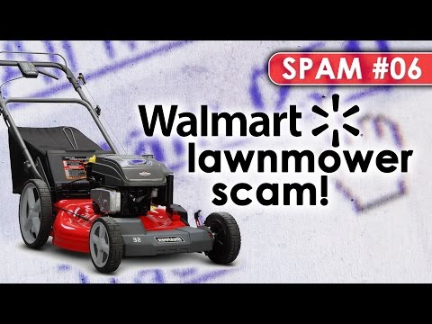 Wal*Mart's Lawnmower Scam!