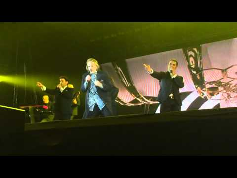 Miguel Bose in Puebla Independence Day
