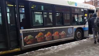 Novabus lfs 24-220 MONTRÉAL STM 160 Barclay Est/Este