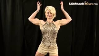 2014 NPC Junior Nationals Women's Bodybuilding & Physique Backstage Posing