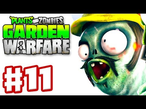 Plants vs. Zombies: Garden Warfare - Gameplay Walkthrough Part 11 - Engineer (Xbox One)