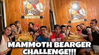 MAMMOTH BEARGER CHALLENGE!!!