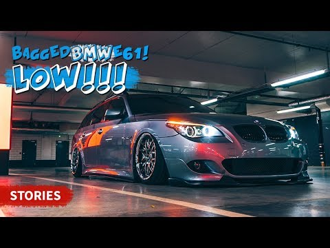 How low can you go? BMW E61 5 Series on air suspension!  / Stories #08