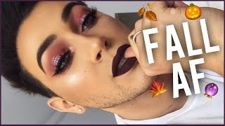 FIRST MAKEUP TUTORIAL OF FALL! VAMPY GLAM | Manny MUA