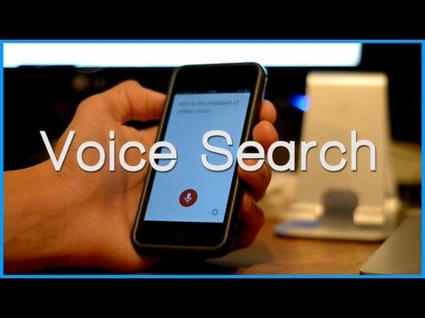 Google Voice Search For iOS - Demo & Overview (Google Now For iPhone, iPod)