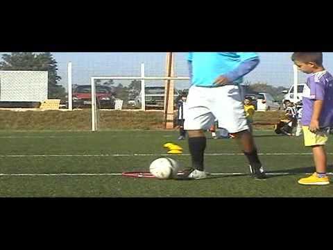 Vídeo do Treinamento da Escolinha Oficial do Santos-Presidente Prudente-Rei da Bola