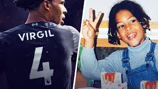 "The tragic reason why Van Dijk decided to have ""Virgil"" printed on his jersey 