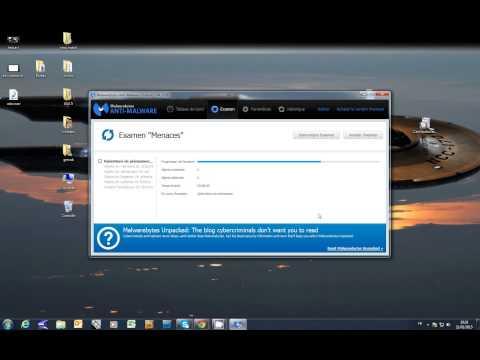 Astuce pour trouver et supprimer des malwares avec MalwareByte
