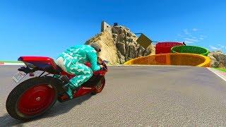 99% IMPOSIBLE! NO PUEDO CAER!! - CARRERA GTA V ONLINE - GTA 5 ONLINE