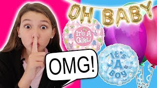REVEALING THE BABY'S GENDER TO OUR FAMILY!