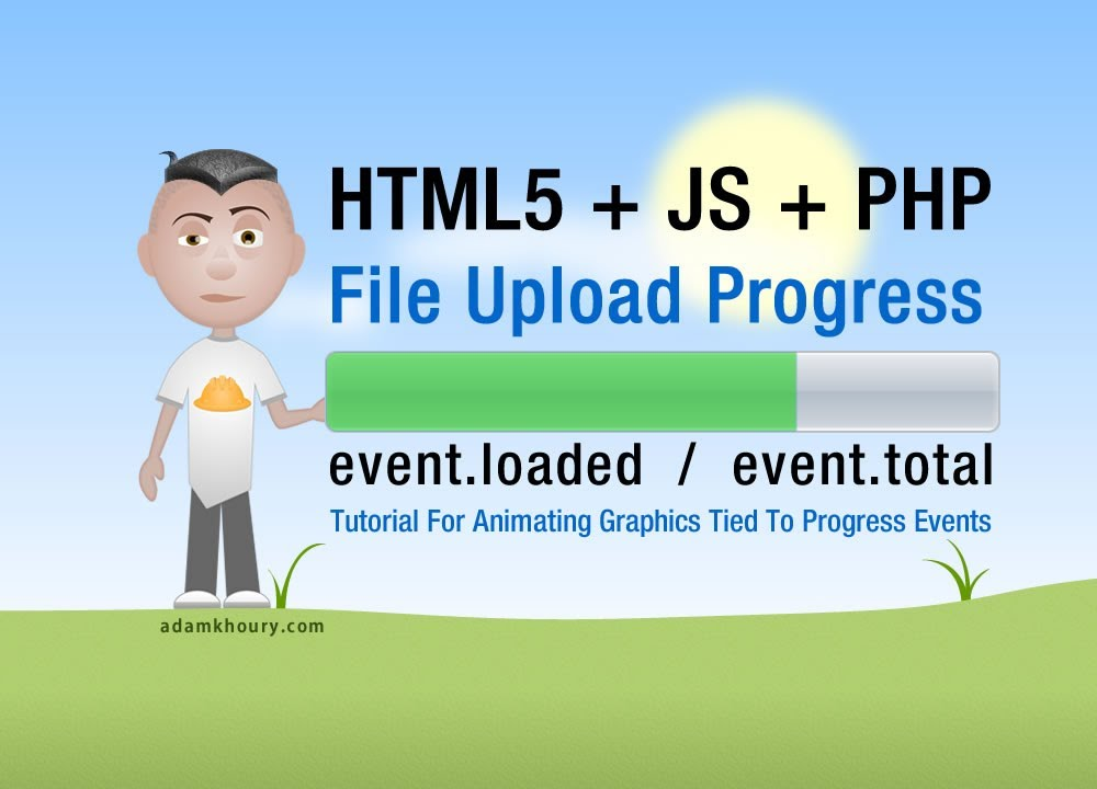 Upload Bar File Upload Progress Bar Meter