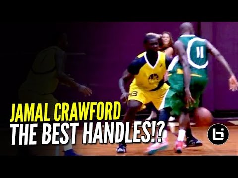 Jamal Crawford Has The BEST Handles In The WORLD! OFFICIAL Mixtape Vol 2!