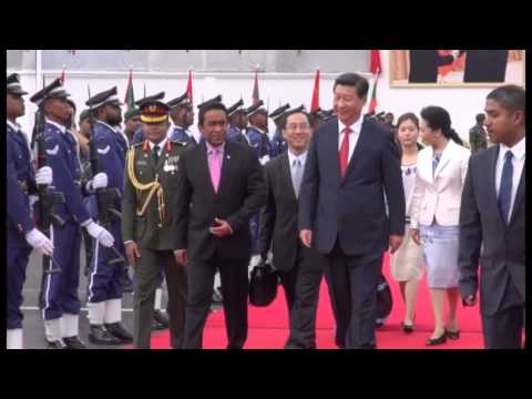 President Xi and Madam Peng depart Maldives on conclusion of State Visit