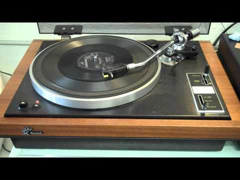 Johnny Kidd and The Pirates - Jealous Girl played on a Sansui SR-4050C