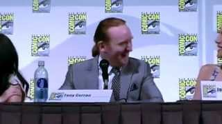 Tony Curran, Datak & Scottish Accents - Defiance San Diego Comic Con 2013