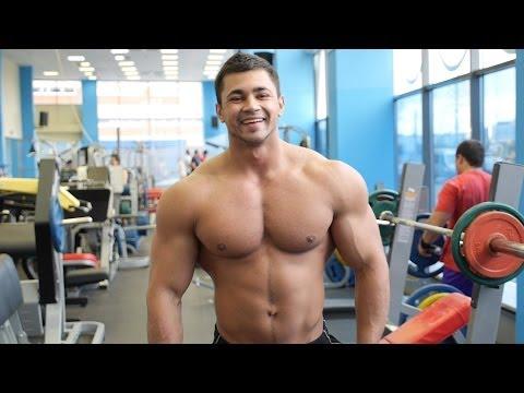 Тренируем грудные мышцы с Димой Ивановым. Буду Первым.