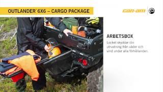 Can-Am Outlander 6X6 1000 XT Cargo package Sweden