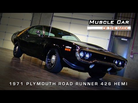 Muscle Car Of The Week Video #63: 1971 Plymouth Road Runner 426 Hemi