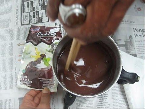 Men Buat Pudding Susu Nutrijell Rasa Coklat thanks Ade Abang atas idenya BR TiVi 2419