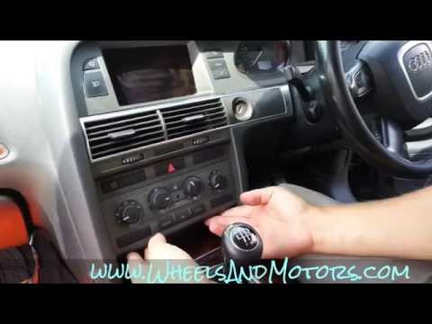 How to remove Climatronic (AC and climate control buttons) on Audi A6 (C6 4F)