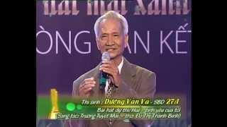 Tiếng hát mãi xanh 2012 – Bán kết 2 – Dương Văn Vá – Huế – Tình yêu của tôi