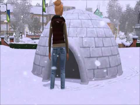 Sims 3 Seasons: Igloo Woohoo
