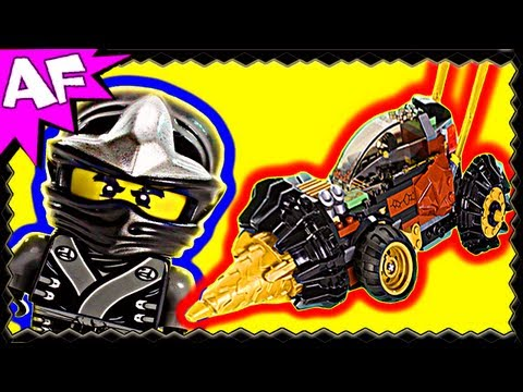 COLE's EARTH DRILLER - Lego Ninjago Set 70502 Animated Building Review