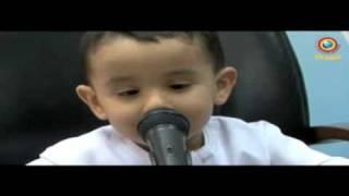incroyable ! un enfant de 3ans a appris le coran en étant foetus