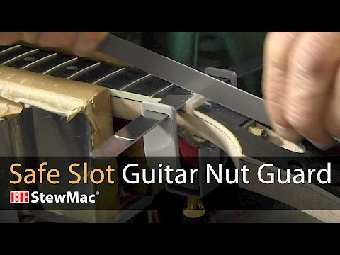 Safe Slot Guitar Nut Guard