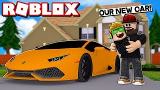 OUR FAMILY BUYING BRAND NEW SUPERCAR in ROBLOX ADOPT ME