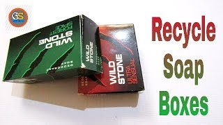 How To Recycle Soap Box || DIY || Recycling Old SoapBox ||Best Out Of Waste || Soap Box Reuse Idea