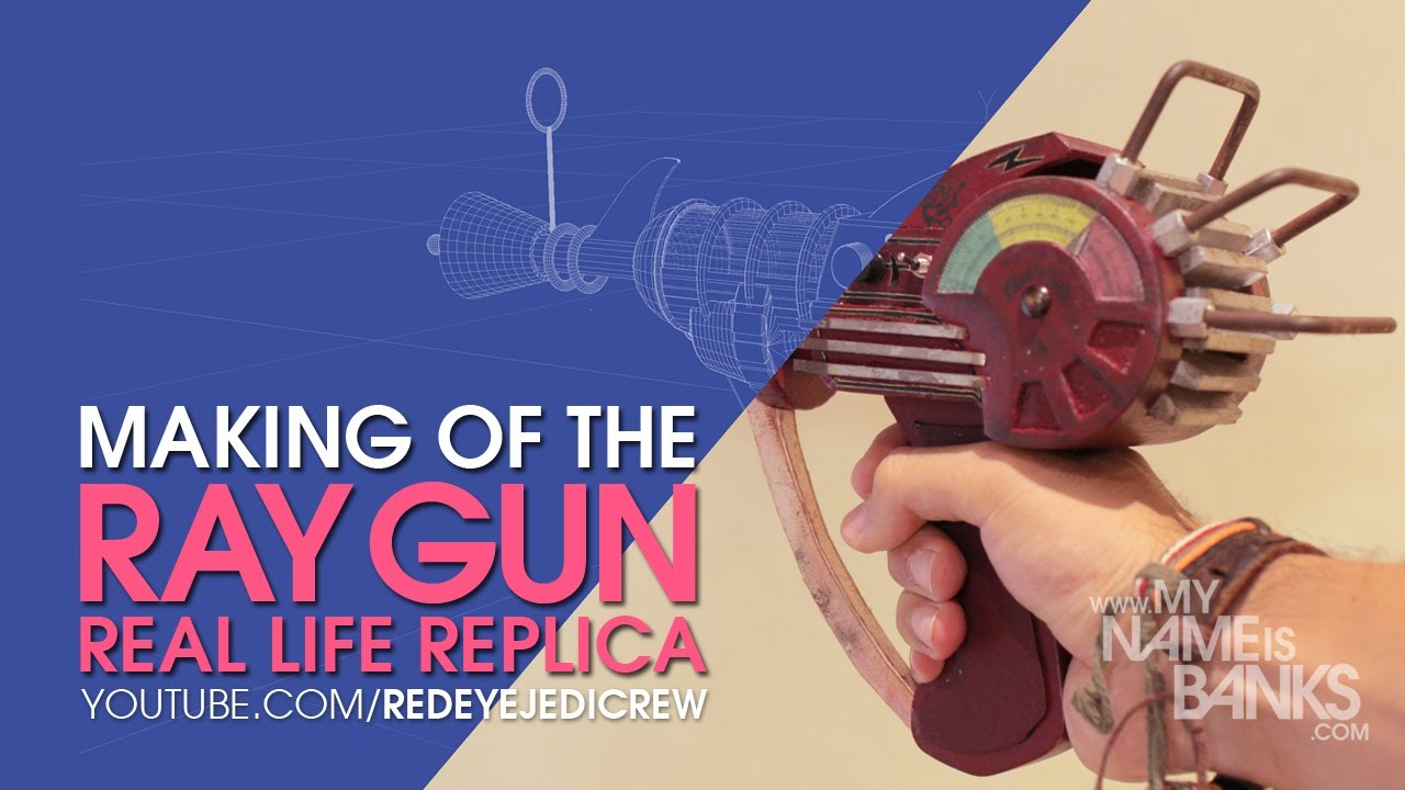 Make Ray Gun Call of Duty Real Life Ray Gun